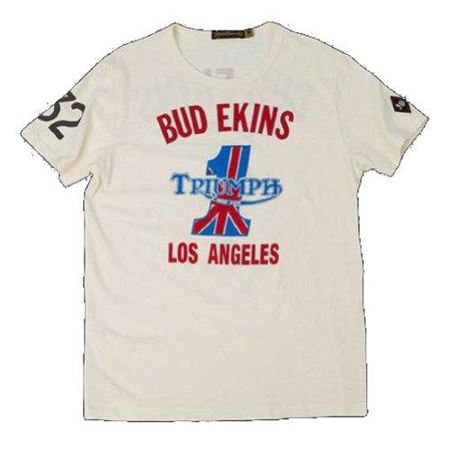 Triumph Johnson Motors Bud Ekins 1 T Shirt Medium