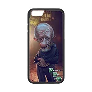 Onshop Custom Cute And Funny Cartoon Breaking Bad Pattern Phone Case Laser Technology for iphone 6 4.7