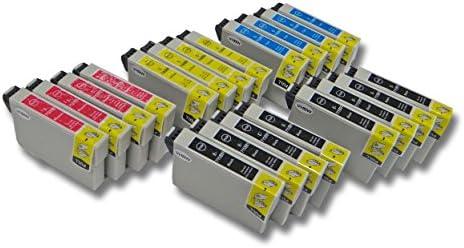 20x vhbw Cartuchos para Impresora Cartuchos de Tinta para Epson ...