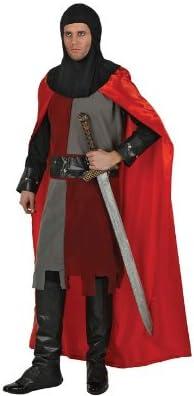 Desconocido Disfraz de caballero medieval para hombre: Amazon.es ...