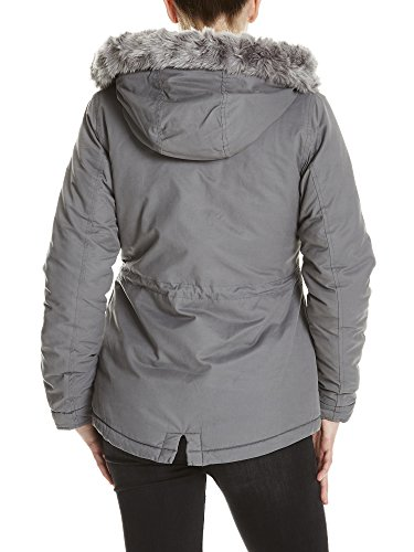 Lining Gy149 Fur With Jacket Padded Para Chaqueta Gris dark Bench Grey Mujer q6wSUp1AB