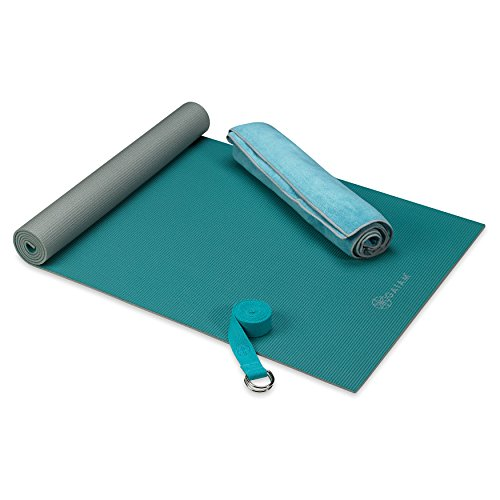 Gaiam Premium Hot Yoga Teal