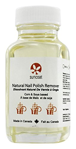 Natural Nail Polish Remover, 60 ml by Suncoat Products inc