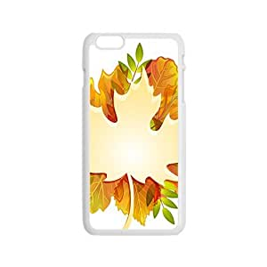 Maple leaf and Autumn Hight Quality Plastic Case for Iphone 6