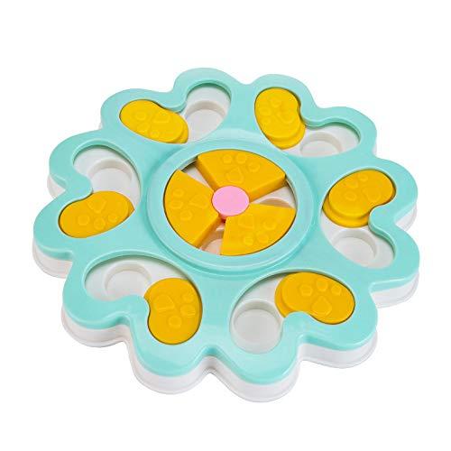 Lotusflower Dog Food Puzzle Toys Puppy Treat Dispenser Dog Toys
