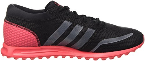 adidas Unisex Adults' Los Angeles Trainers, Black, 8 1/2 UK Multicolore (Cblack/Cblack/Shored)