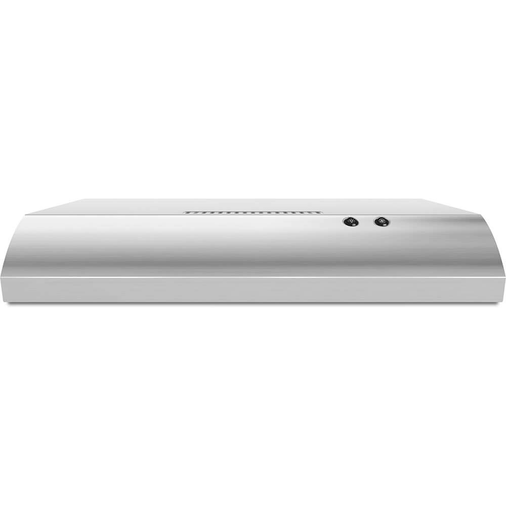 """WHIRLPOOL RANGE HOODS 1029938 30"""" 2-Speed Non-Vented Built-In Range Hood With Vent, Stainless Steel, 190 Cfm, 120 Volts"""