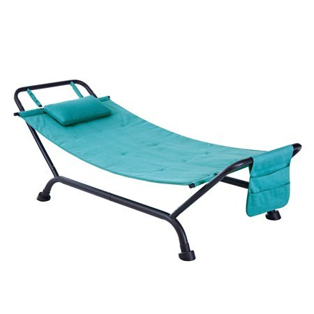 Forest Hills Hammock with Stand in Teal Shimmer