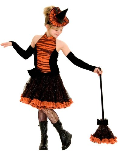 Princess-Paradise-Orange-Tutu-Witch-Child-Costume