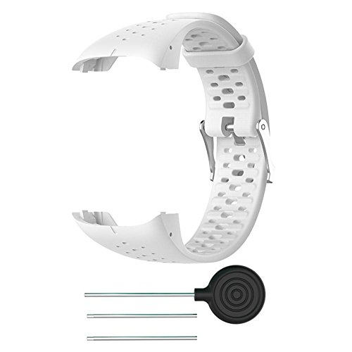 VOVI Band for Polar M400 M430 GPS Running Smart Watch with Sports 8- Colors Silicone Replacement Watch Bracelet Strap Wrist Band Strap for Men Women
