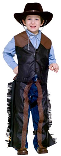 Forum Novelties Kids Dress-Up Cowboy Costume, One Color, Small (Country And Western Costumes)