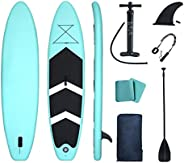 """Lucear Inflatable Stand Up Paddle Board,10'6×32""""×6"""" Paddle Board, SUP Paddleboard Accessories Ba"""