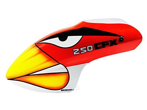 Microheli Airbrush Fiberglass Angry Bird Canopy - Blade 250 CFX