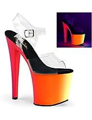 Pleaser Womens RAINBOW-708UV Sandals