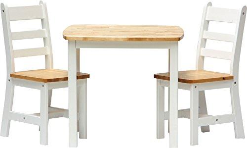 Tisch mit sthlen wei interesting tisch und sthle grove im - Tavolo ikea vangsta ...