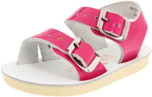 Salt Water Sandals by Hoy Shoe Sea Wees,Shiny Fuschia,1 M US Infant