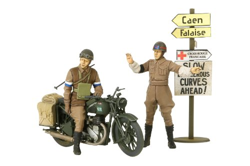 Tamiya Military Kit 1:35 35316 1:35 Bsa M20 Motorcycle W Mil Police