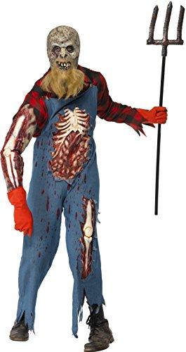 [Smiffys Men's Hillbilly Zombie Costume] (Scary Hillbilly Halloween Costumes)