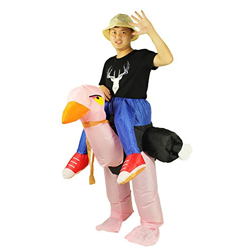 Adult Size Inflatable Costume Ostrich Ride on
