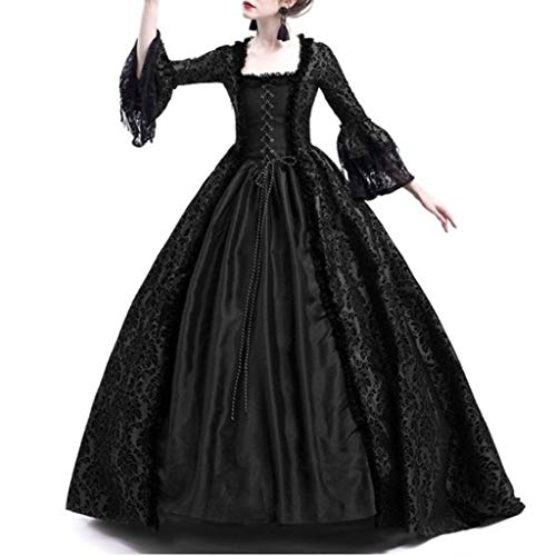 Elegant Dresses for Women,Chaofanjiancai Ladies Retro Medieval