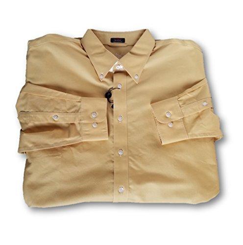 Ashworth EZ-TECH Long Sleeve Oxford Woven Shirts ()