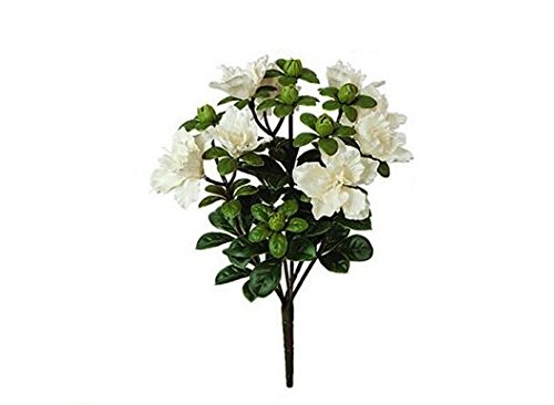 14-Artificial-Azalea-Bush-White