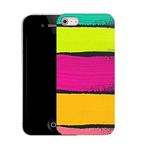 Mobile Case Mate IPhone 4 clip on Silicone Coque couverture case cover Pare-chocs + STYLET - platonic pattern (SILICON)
