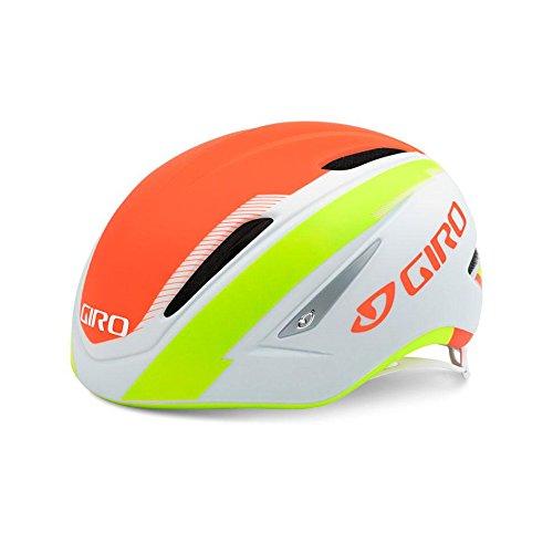 UPC 768686675072, Giro Air Attack Helmet Medium Matte White/Flame/Lime