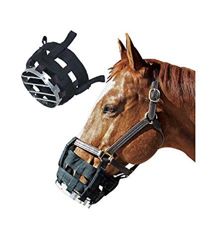 Cribbing Muzzle (Cribbing Muzzle - For Equine Behavior Management - Large)