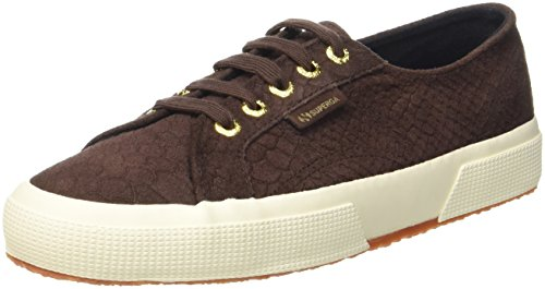 Superga Damen 2750 Fglanacondaw Sneaker Braun (BROWN COFFEE)