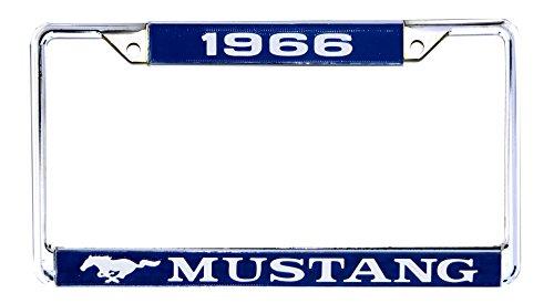 1966 License Plate Frame - 1