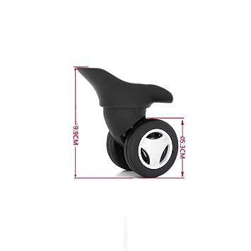 wheel Accesorios para Ruedas de Equipaje, Maletas, Ruedas universales, Ruedas para Maletas, Estilo: B (Cantidad: 2): Amazon.es: Hogar