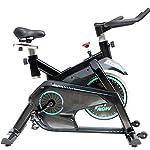 ZoSiP-Spin-Bike-Upright-Cyclettes-Indoor-Cycles-Studio-Studio-di-qualita-con-cardiofrequenzimetro-Color-Black-Size-125x50x124cm