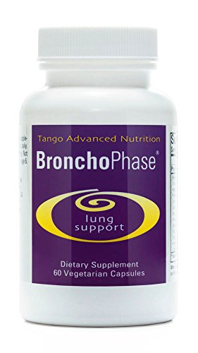 BronchoPhase Advanced Lung Support Formula: All-Natural Herbal Supplement Soothes Lungs and Promotes Healthy Relaxed Breathing