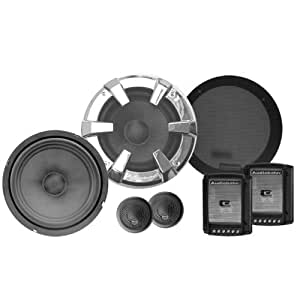 Audiobahn 6-1/2-Inch 2-Way ABC Series Component Car Speakers (ABC600J)