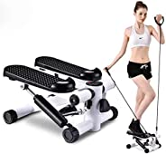 Fitness Stair Stepper for Women and Man,Mini Stepper Fitness Cardio Exercise Trainer,Height Adjustable Stepper
