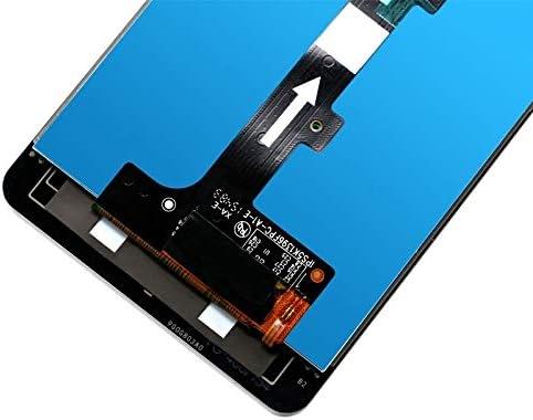 LCD Screen Mobile Phone and Digitizer Full Assembly for BQ Aquaris M5 Color : Black Black