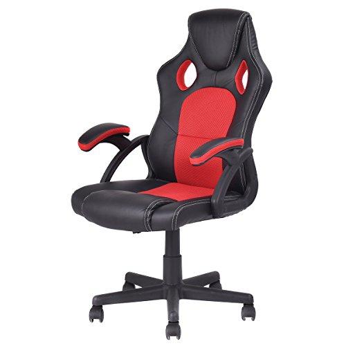 Chaise fauteuil siège de bureau racing sport pivotante