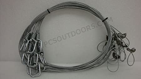 100 Pack Snare Swivel Washer Trapping Supplies