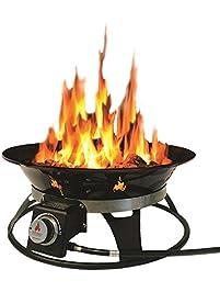 outland firebowl cypress portable propane fire pit