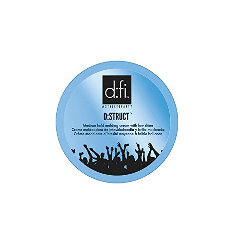 D:fi D:Struct Medium Hold Molding Creme, 2.6 - G And D Red