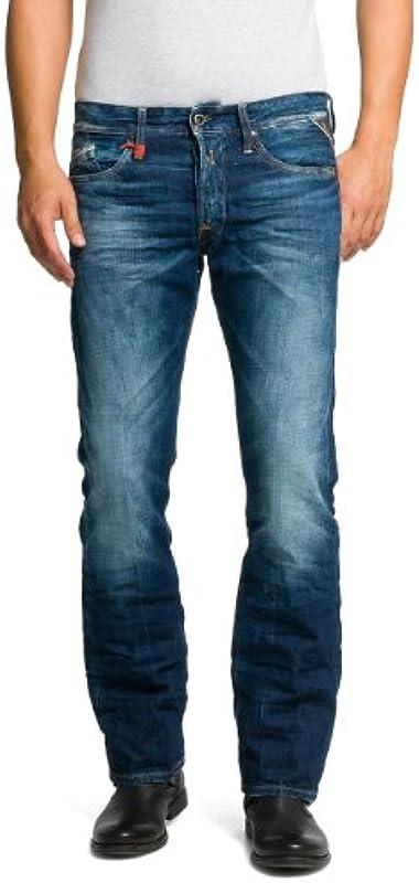 Replay Męskie Waitom Jeans: Odzież