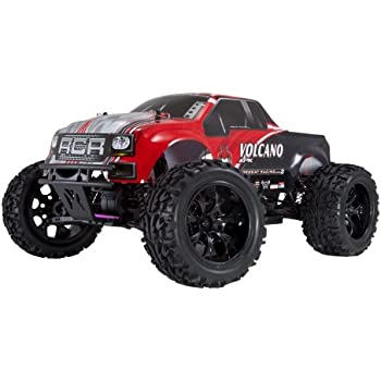 Redcat Racing Electric Volcano EPX Truck with 2.4GHz Radio,Vehicle Battery and Charger Included (1/10 Scale), Red