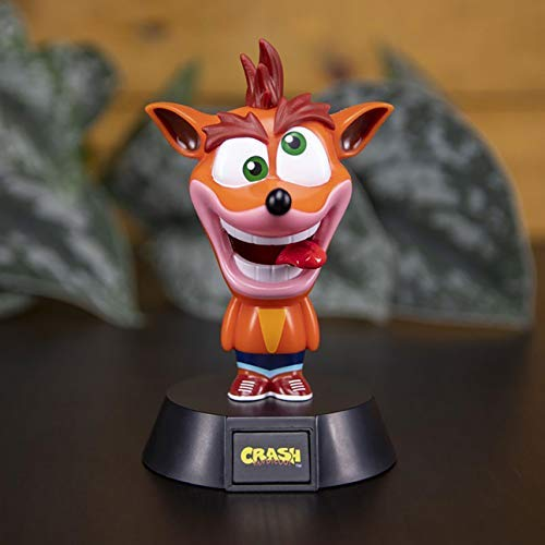 Paladone Crash Bandicoot Icon Light - Video Game Collectible Lamp