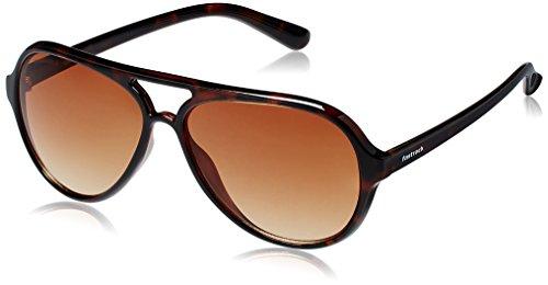 Fastrack Springers Aviator Sunglasses (Brown) (P296BR2)