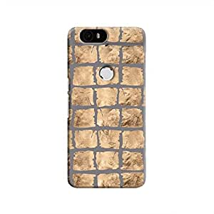 Cover It Up - Rock Grey Break Nexus 6P Hard Case