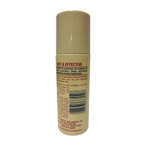 Alvera All Natural Roll-On Deodorant Aloe & Almonds - 3 Fl Oz, 4 pack