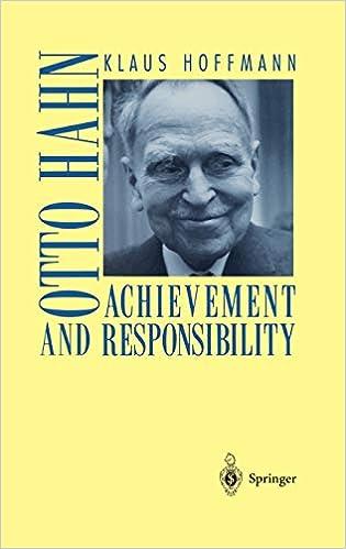 Otto Hahn: Achievement and Responsibility