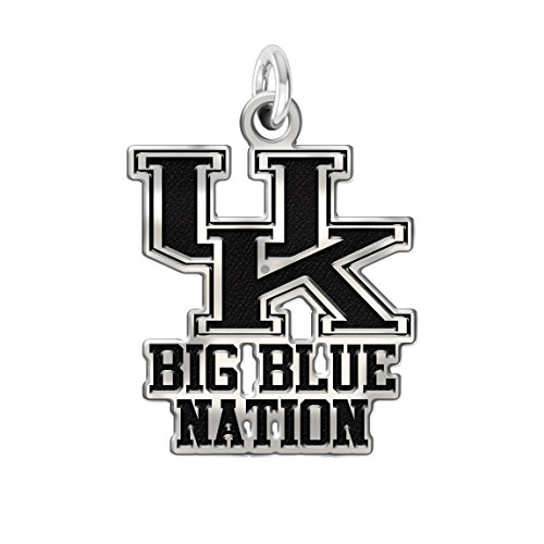 (University of Kentucky Wildcats Pride Charm in Solid Sterling Silver)