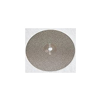 """8/""""x1//2/"""" 3000Grit Diamond Lapidary Glass Standard Faceting Lapping Flat Laps"""